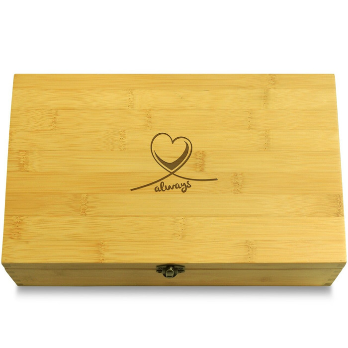 Never Forget Ribbon Organizer Box Lid