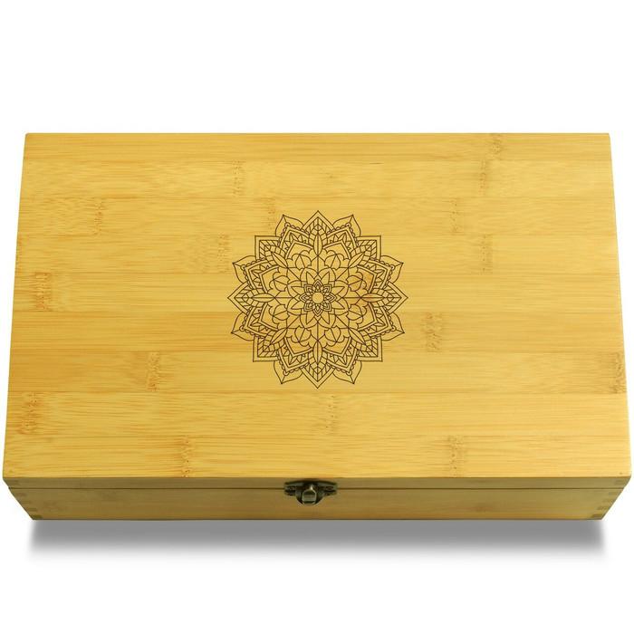 Mandala Wooden Box Lid