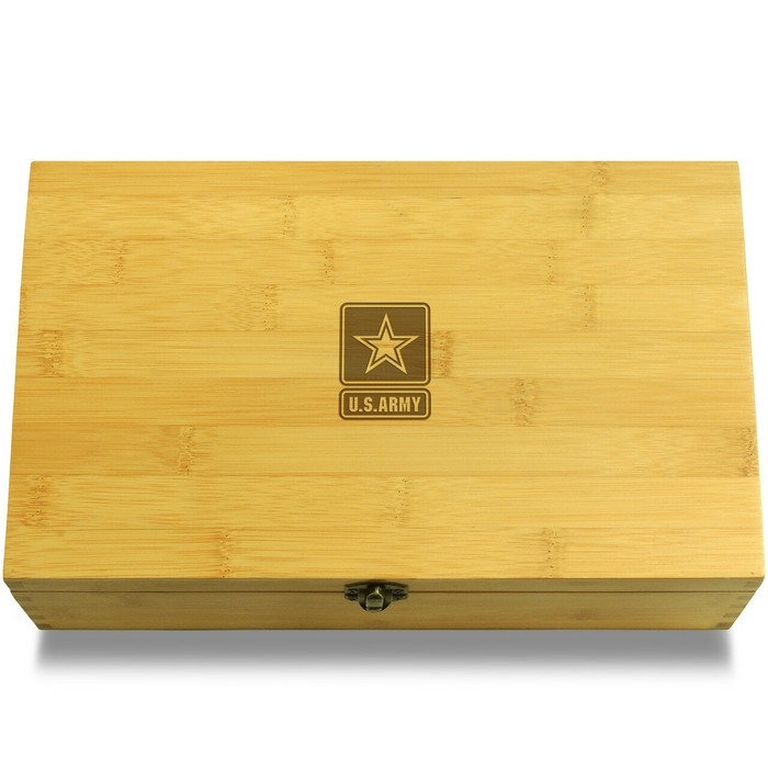Army Wooden Box Lid
