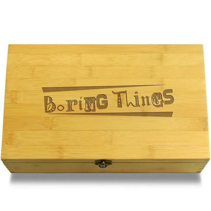 Boring Things Box Lid