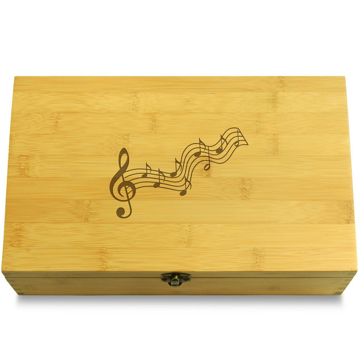 Musical Notes Organizer Box Lid