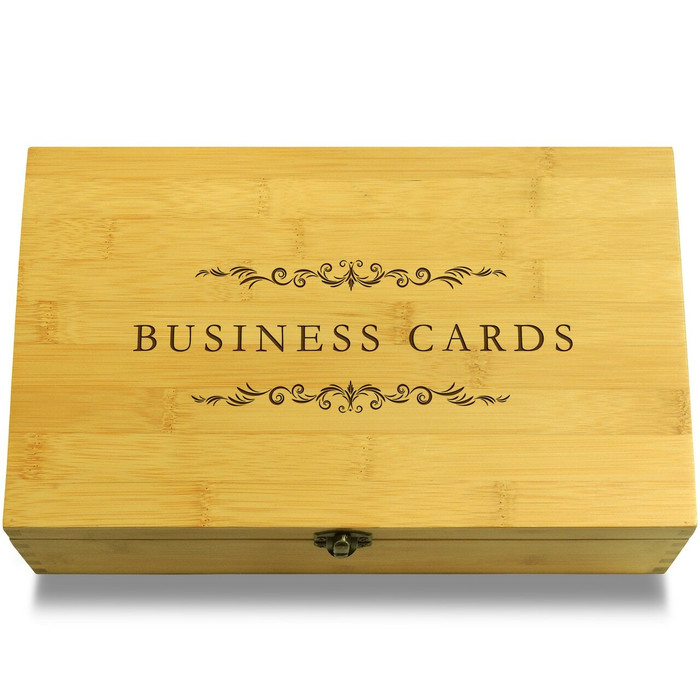 Business Cards Chest Lid