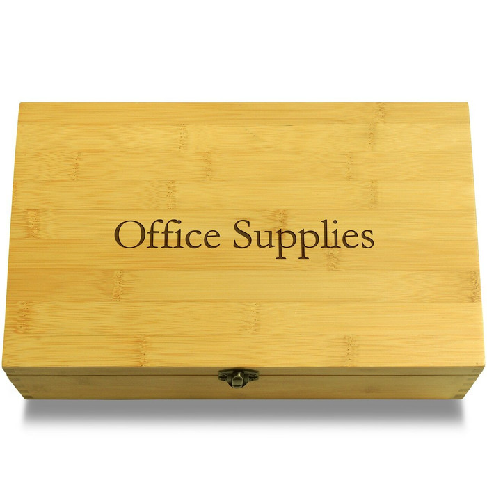 Office/School Supplies Organizer Box Lid