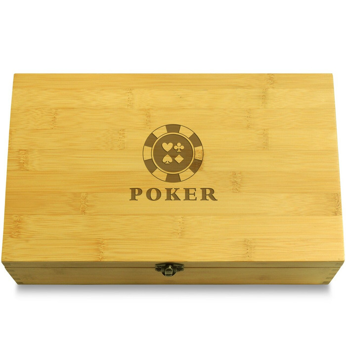 Poker Chips Box Lid
