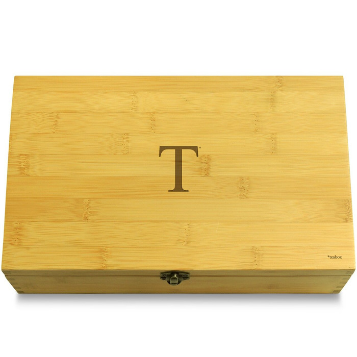 Literally T Box Wooden Chest Lid