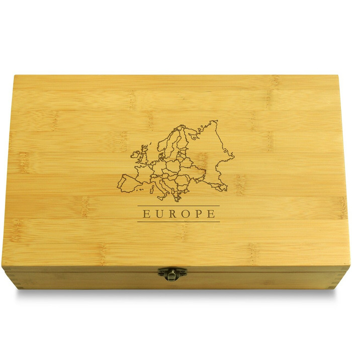 Europe Map Organizer Lid