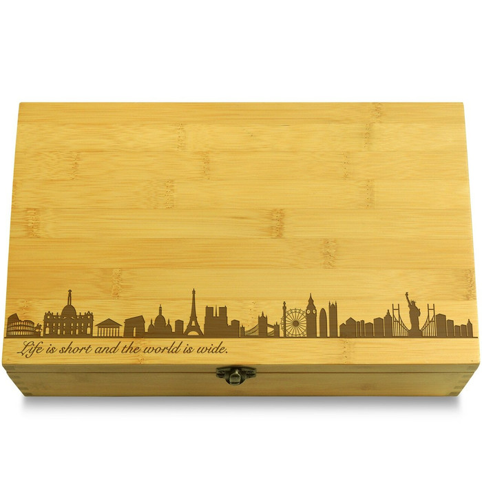 Skylines Wood Chest Lid