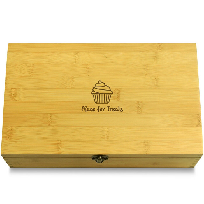 OneCupcake Wooden Box Lid
