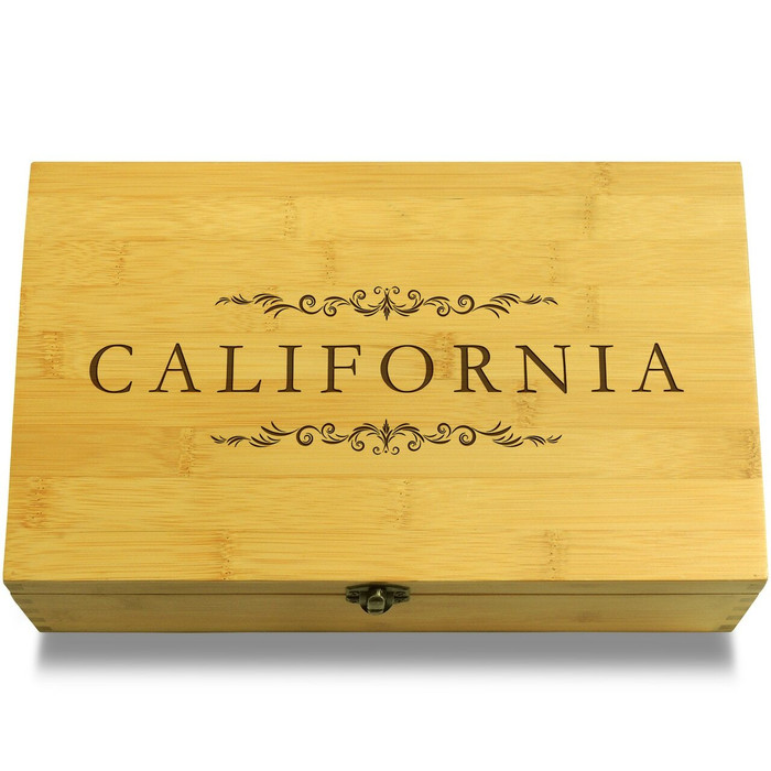 California Wooden Chest Lid