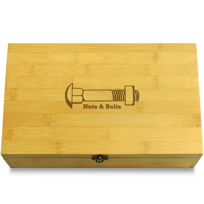 Nuts & bolts Wooden Box Lid