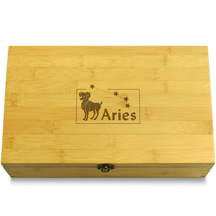 Aries Wooden Chest Lid