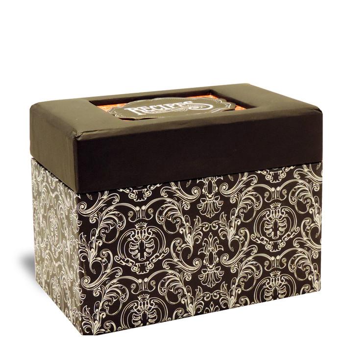 4 x 6 Recipe Box-Savory Eats