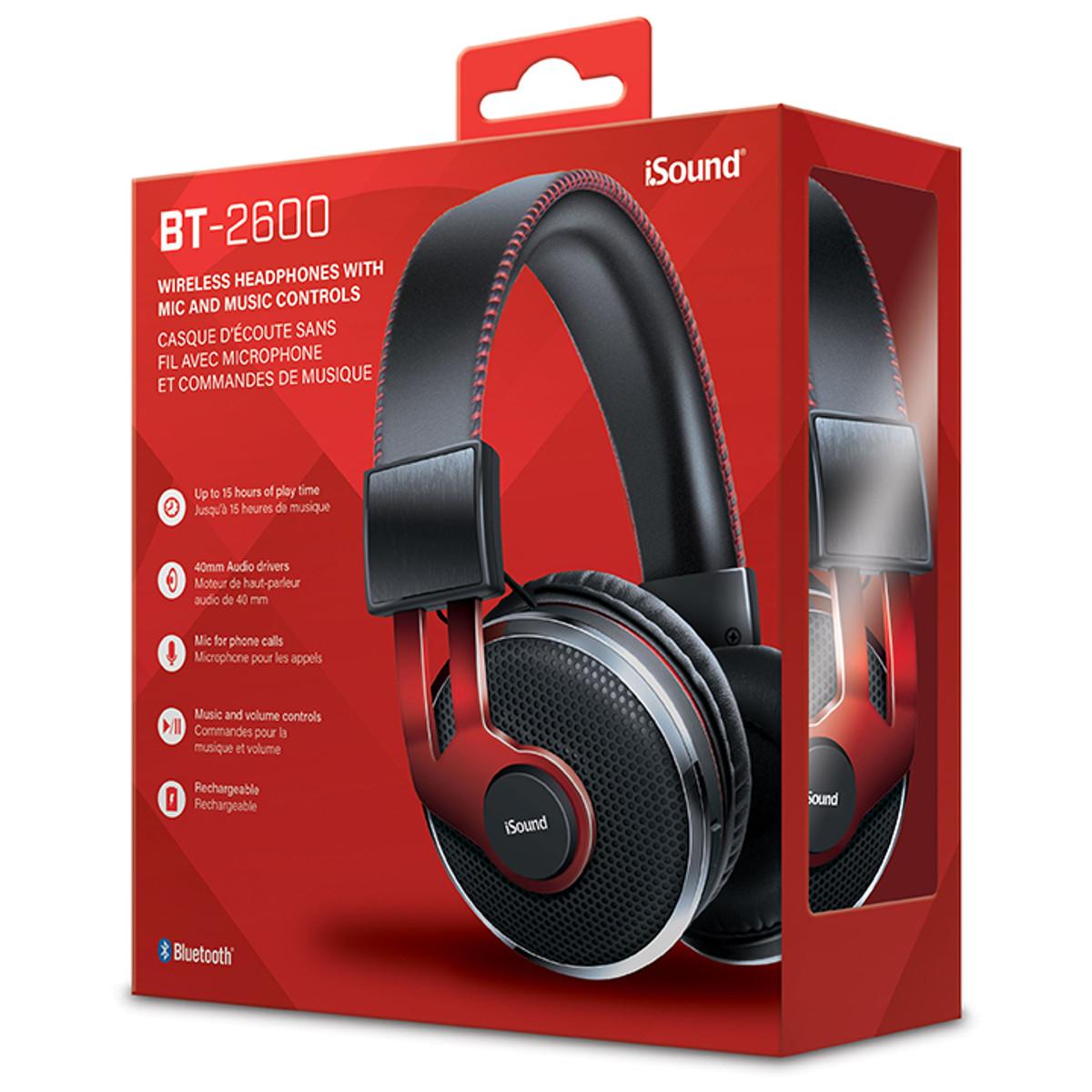 Bt 2600 Bluetooth Headphones Isound
