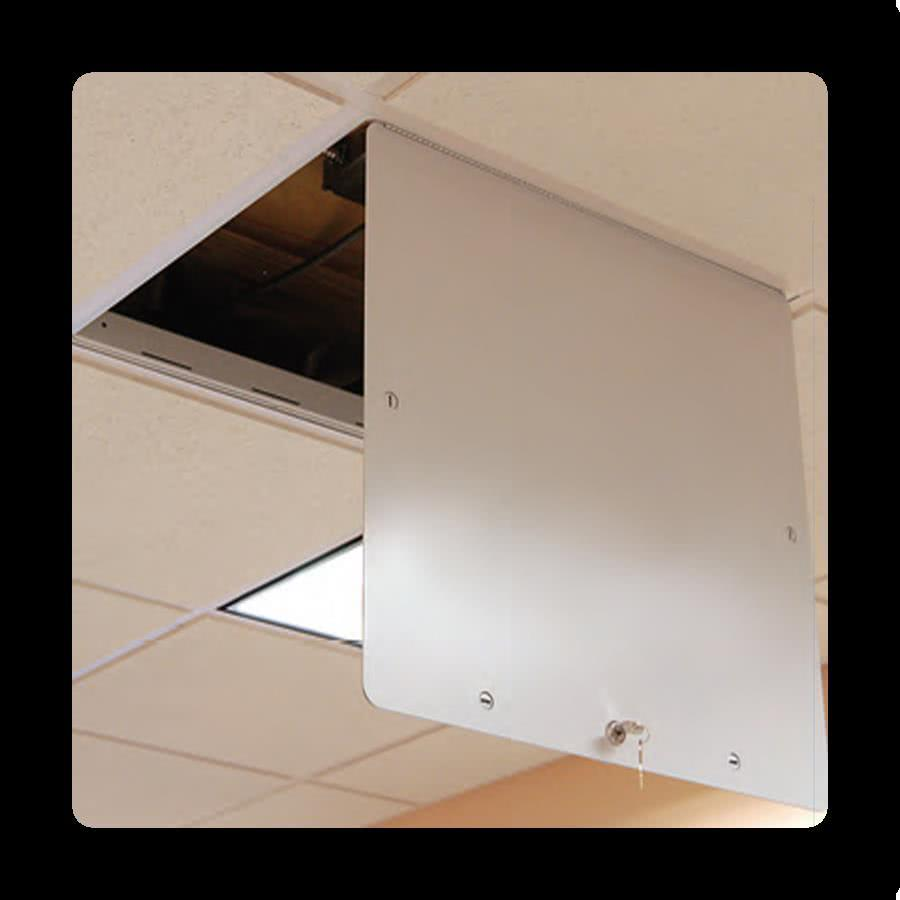 ceiling and attic access doors and panels  best access doors - tbar suspended grid ceiling