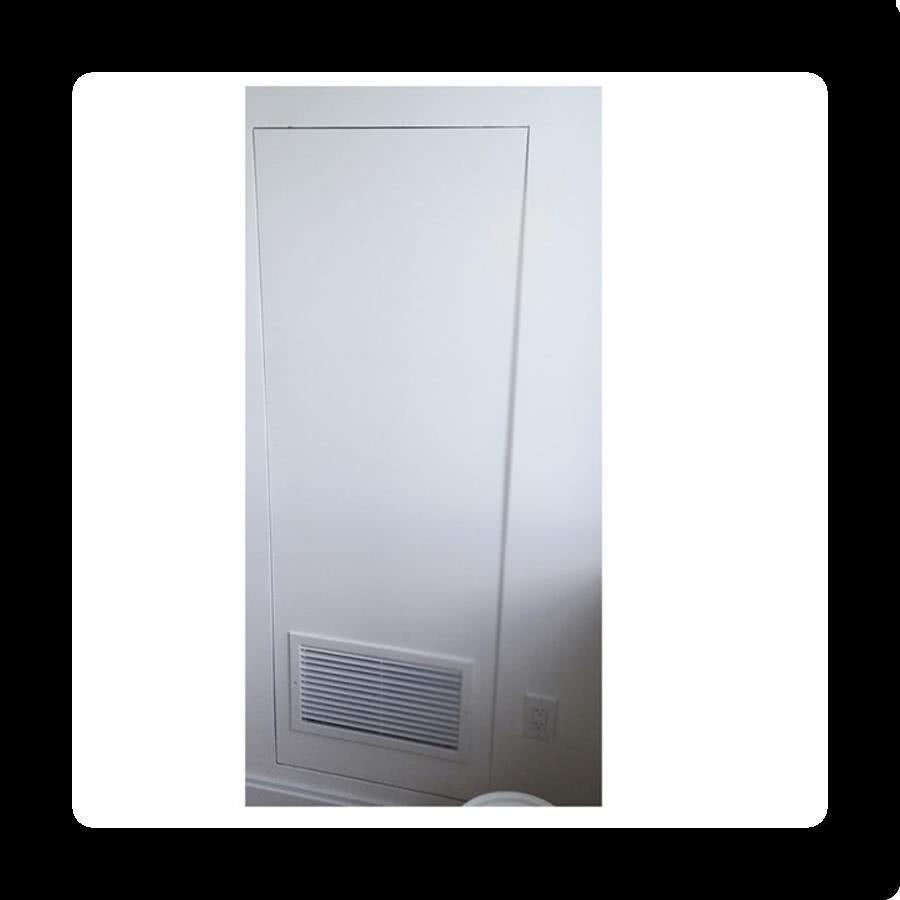 Drywall Inlay - Hidden Air Handler Access Door
