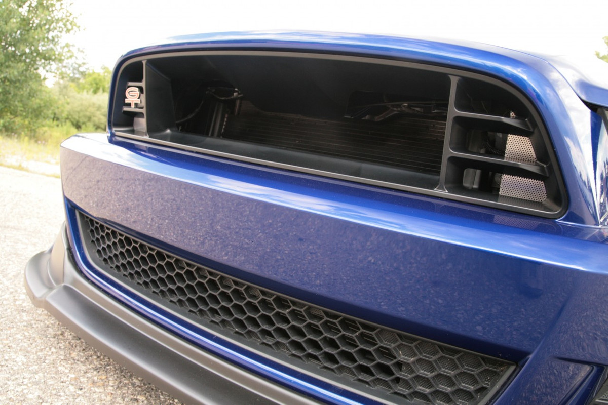 2013 14 mustang performance grille classic design concepts