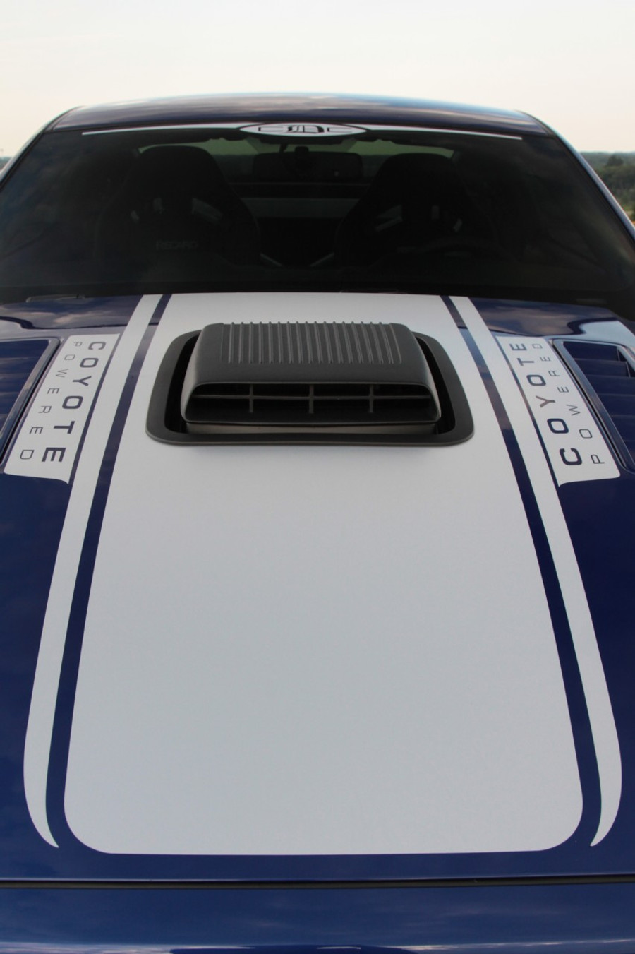 """Mustang """"Coyote Powered"""" Hood Graphic (2013-14)"""