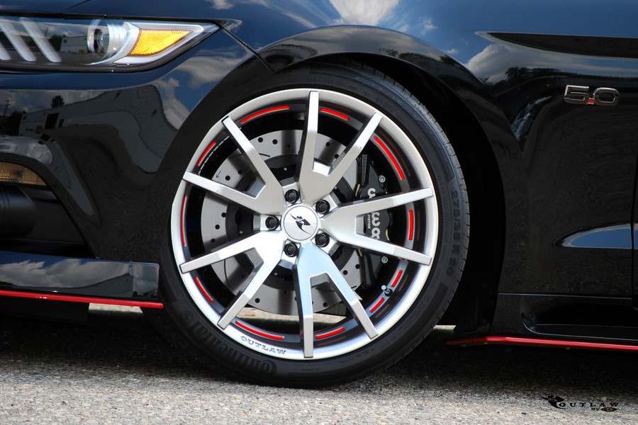 2015-18 Mustang Outlaw Wheel Set