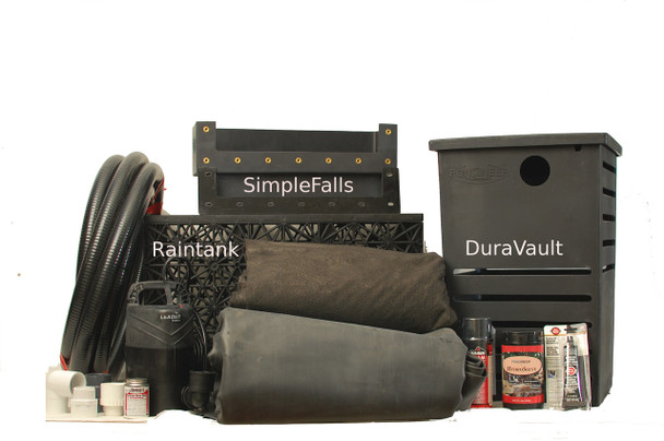 Vanishing Falls Kit with larger components labeled