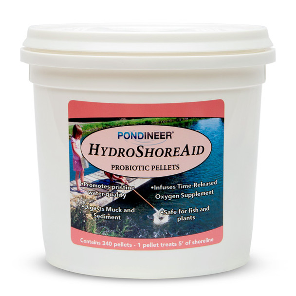 Pondineer Hydro Shore Aid for natural ponds and lakes