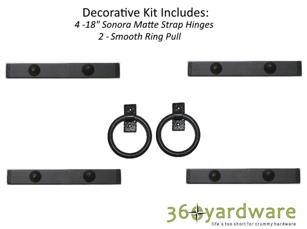 Incroyable Southwest Style Decorative Garage Door Kit