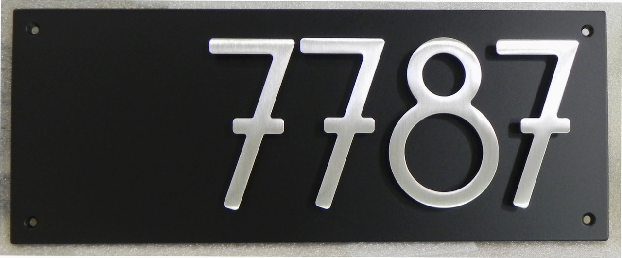 2 Digit House Number Plaque