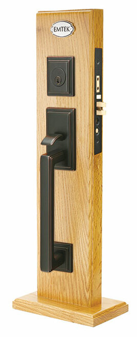 Mills Brass Mortise Entry Lockset By Emtek 360 Yardware