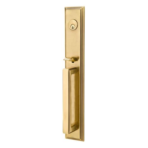 Melrose Style Brass Entry Handleset By Emtek 360 Yardware