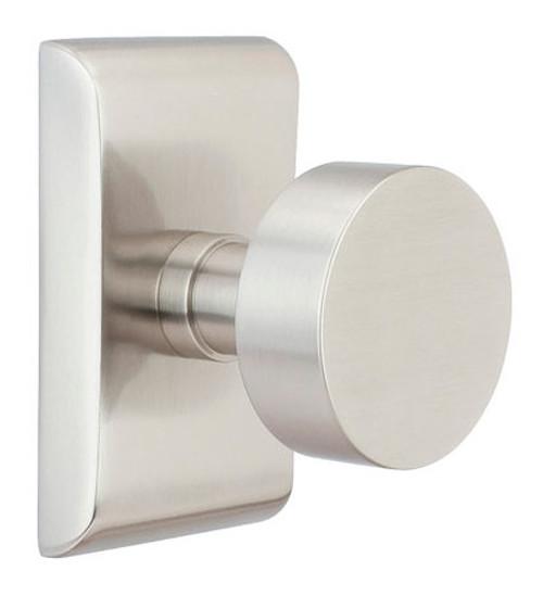 Round brass modern door knob by emtek 360 yardware - Contemporary interior door knobs ...