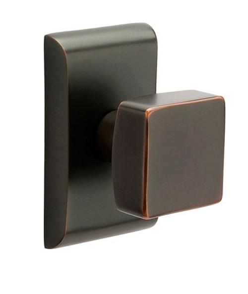 Bon ... Square Brass Modern Door Knob By Emtek ...