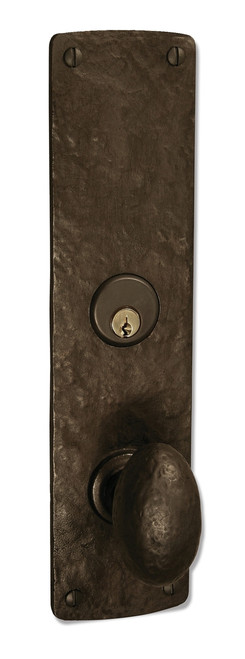 Arched Plate Mortise Entry Lock Set