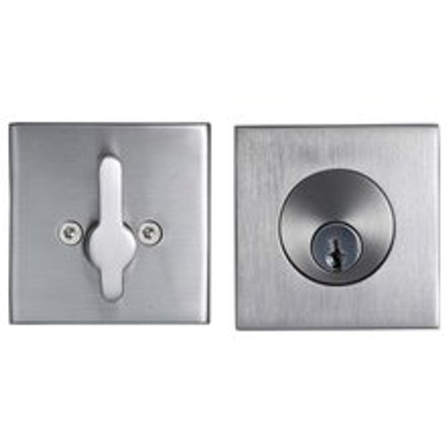 Stainless Steel Square Deadbolt For Thick Gates And Doors