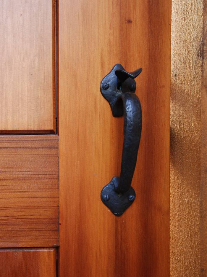 Cedar Gate With Coastal Bronze Thumb Latch 40 330 Straight
