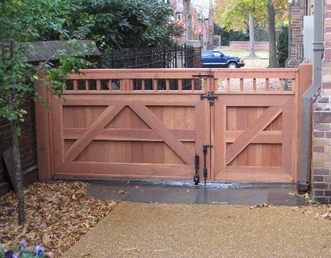 Double Wooden Driveway Gate With Coastal Bronze Gate Hardware Thumb Latch 40 300 Bronze Cane Bolt 80 100 Heavy Duty Barrel Bolt To Lock A Gate 80 200