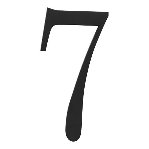 The traditionalist house number 7 black