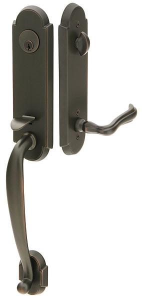 richmond style brass entry handleset by emtek 360 yardware