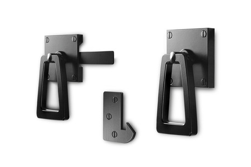 Modern Gate Latch With Tapered Ring 360 Yardware