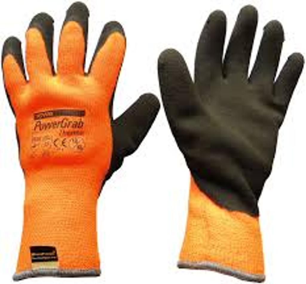 Powergrab Towa Thermo Gloves ORANGE