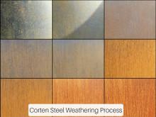 Corten Steel Water Bowl