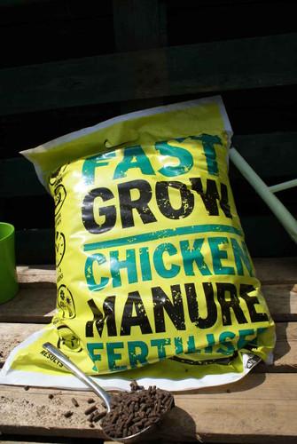 Fastgrow Chicken Manure Fertiliser (10Kg)