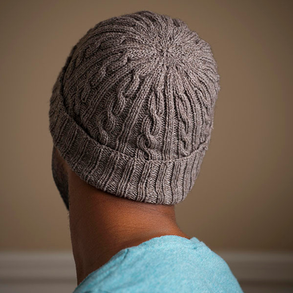 Man Approved Cabled Hat Pattern