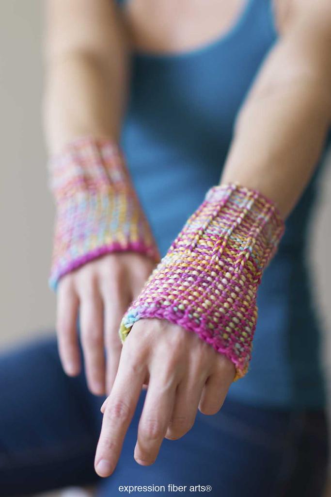 Writers Wrist Warmers Free Knitted Pattern