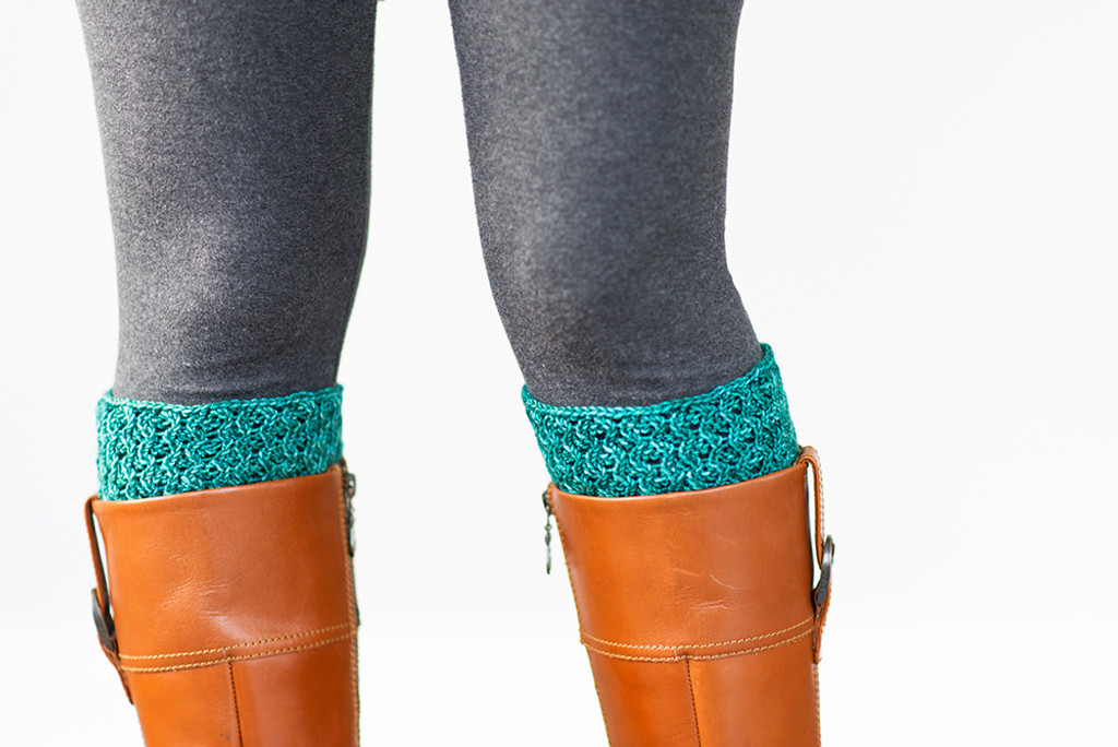 Danielle Knitted Boot Topper Pattern