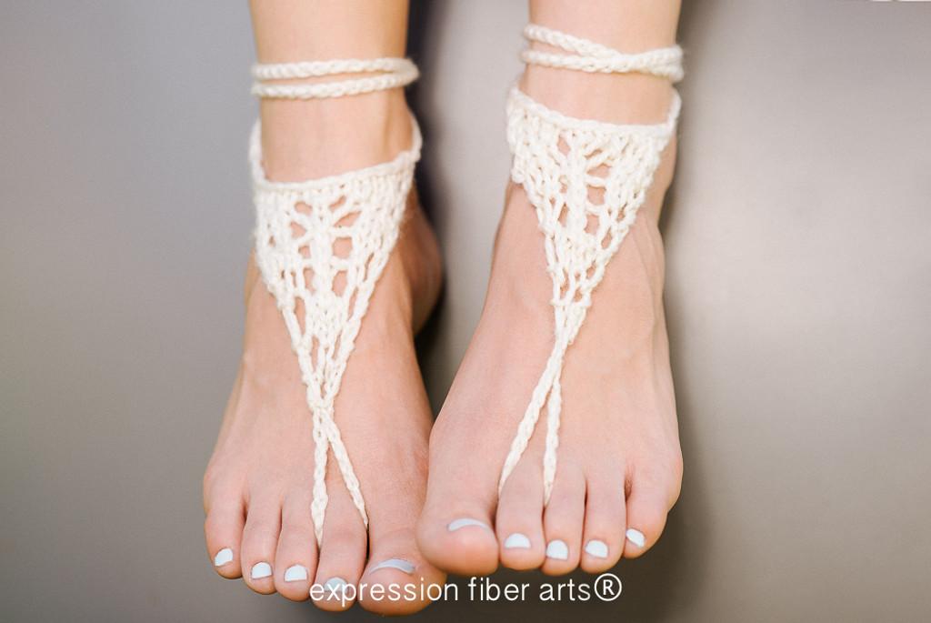 Barefoot Sandals Pattern