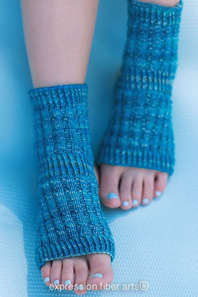 Asana Knitted Yoga Sock Pattern
