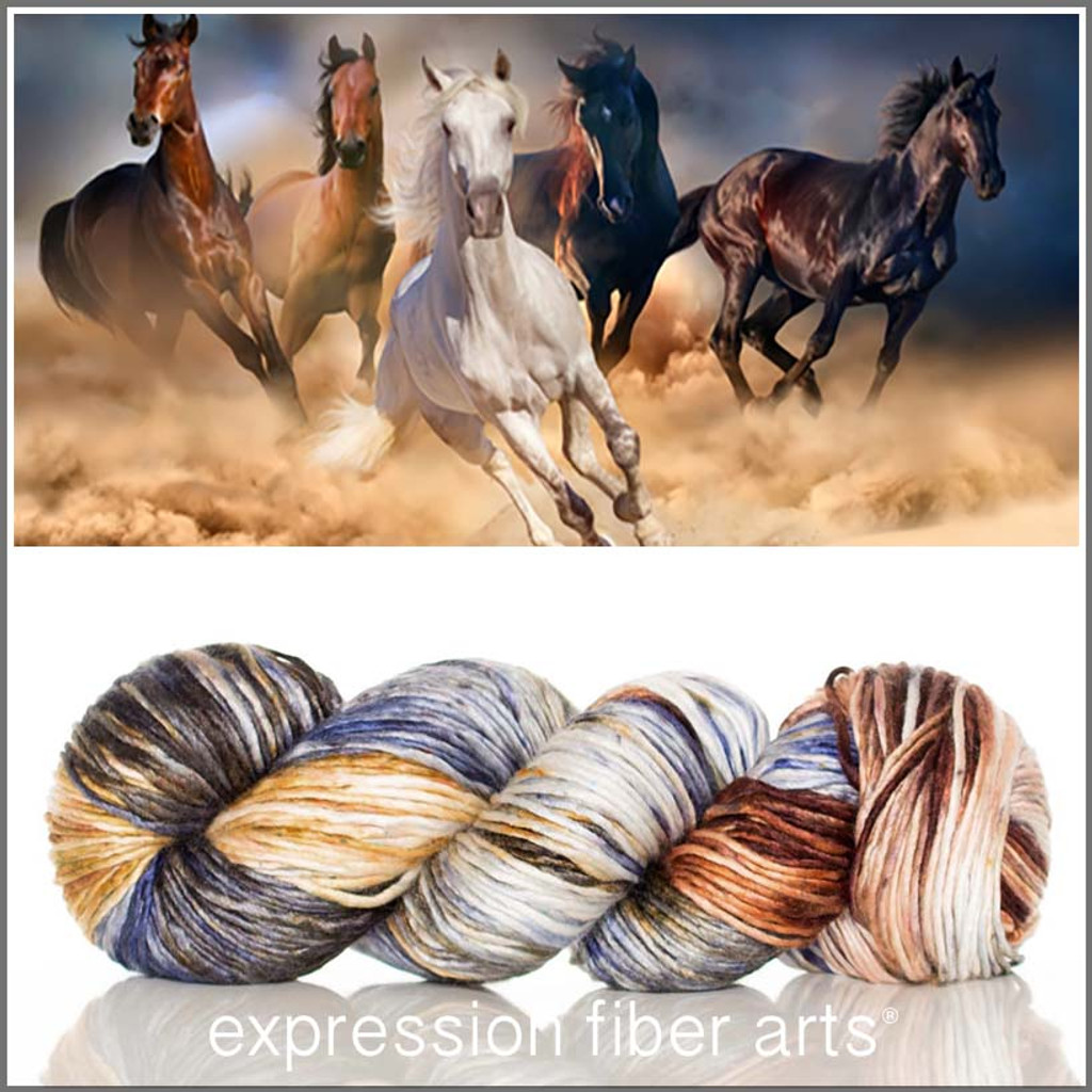 LIBERATION 'PEARLESCENT' WORSTED