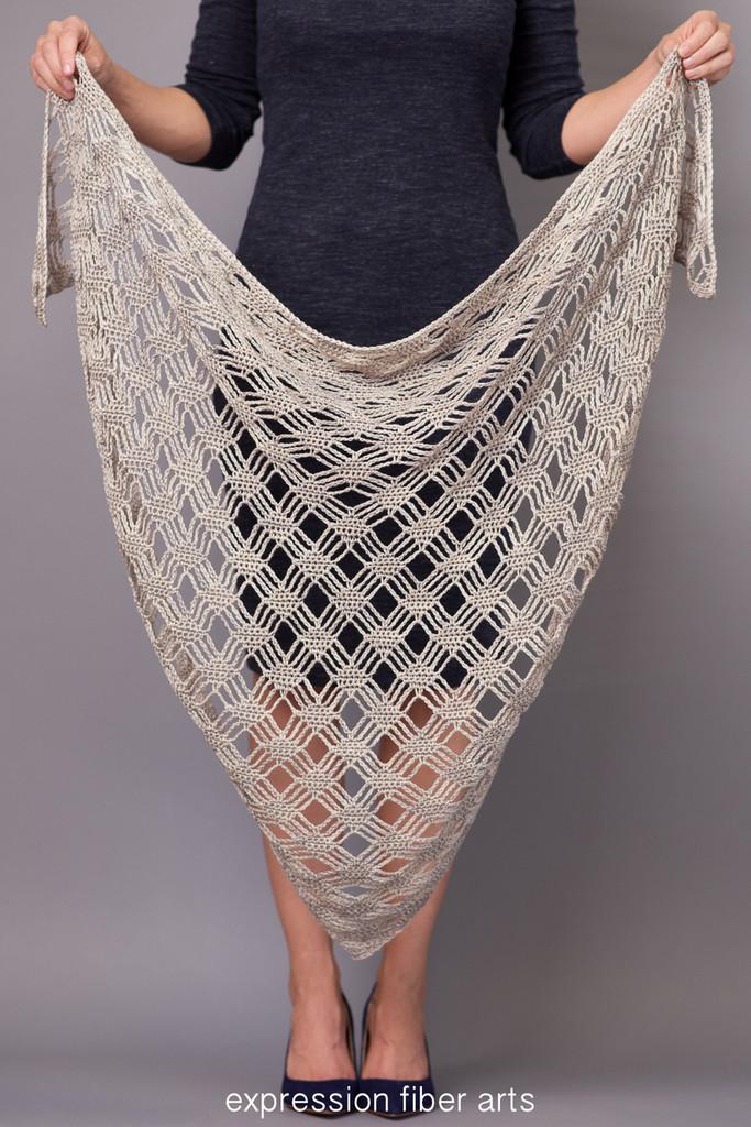 Misty Morning Triangle Crochet Shawl Pattern Classy Crochet Shawl Pattern