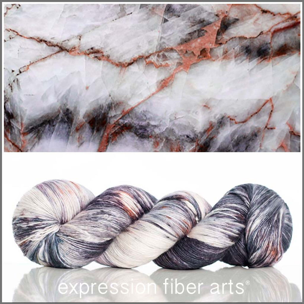 MARBLE 'PEARLESCENT' FINGERING