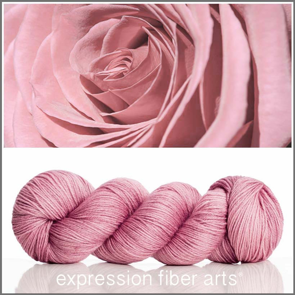 POWDER ROSE 'CASHSILK' SOCK