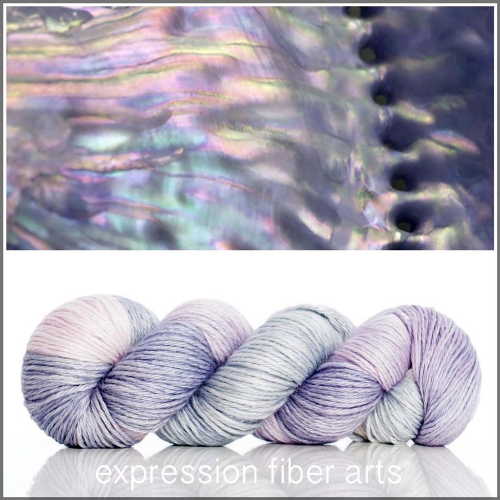MOTHER OF PEARL ALPACA SILK DK